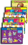 Foreign Language Posters Set of 6 German Posters 1st to 6th Class Prim Ed