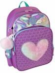 Freelander School Bag Fur Print Heart 18 Litres