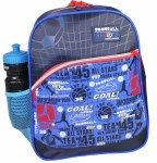 Freelander School Bag Single Pocket Backpack Football Shoots 14 Litres