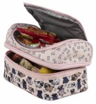 Fringoo Two Compartment Lunch Bag Pug World
