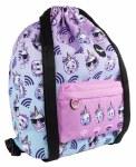 Fringoo Drawstring Backpack Unicorn Wifi