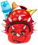 Fringoo Neoprene Lunch Bag Dino Red