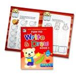 Fun To Write & Draw Book 3 Age 3-5