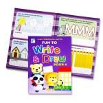 Fun To Write & Draw Book 4 Age 3-5