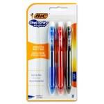 Bic Gelocity Original 0.7mm Gel Ink Grip Pens 3 Pack