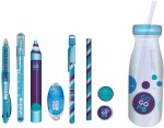 Gogopo 9 Piece Milk Bottle Set Blue