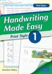 Handwriting Made Easy Print Style Book 1 First Class CJ Fallon