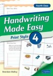 Handwriting Made Easy Print Style Book 4 Fourth Class CJ Fallon