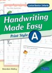 Handwriting Made Easy Print Style Book A Junior and Senior Infants CJ Fallon