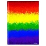 Hardback A4 Rainbow Premier
