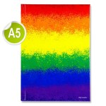 Hardback A5 160 Pages Rainbow