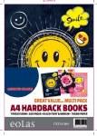 Hardback A4 160 Page Smile Eolas Stationery