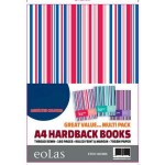 Hardback A4 160 Page Stripe Eolas Stationery