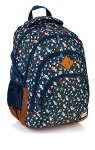 Head School Bag 17IN Flower 24 Litres
