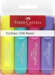 Highlighters 4 Pack Pastel Faber Castell