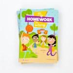 Homework Diary Hardback English Version 4schools