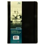 Icon A4 192pg Black Journal & Sketch Book