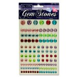 Icon Self Adhesive Gem Stones Pastel 120