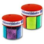 Icon 6 Part Glitter Shaker Neon