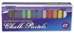 Chalk Pastels 12 vibrant colours
