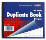 Duplicate Invoice Book Half Size 100 Leaves