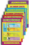 Gaeilge Irish Grammar Posters Set 1 Third and Fourth Class Class Prim Ed