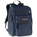 Jansport Big Student School Bag Navy 34 Litre