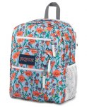 Jansport Big Student School Bag Poppy Garden 34 Litres