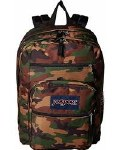 Jansport Big Student School Bag Surplus Camo 34 Litre