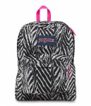 Jansport Superbreak School Bag Grey Wild Heart 25 Litre