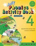 Jolly Phonics Activity Book 4 Print Style
