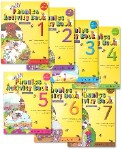 Jolly Phonics Activity Books Set of 1 to 7 Print Style