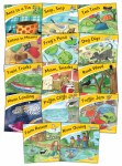 Jolly Phonics Readers Little Word Books Pack of 14