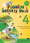 Jolly Phonics Activity Book 4 Precursive Looped Style
