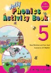 Jolly Phonics Activity Book 5 Precursive Looped Style