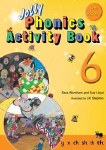 Jolly Phonics Activity Book 6 Precursive Looped Style