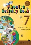 Jolly Phonics Activity Book 7 Precursive Looped Style