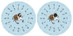 Jolly Phonics Blends Wheels Set of 10 Double Sided Blends Wheels