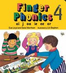 Jolly Phonics Finger Phonics 4