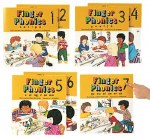 Jolly Phonics Finger Phonics Small Books Set of 1 to 7