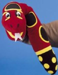 Jolly Phonics Puppet Snake