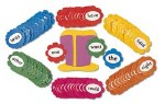 Jolly Phonics Tricky Word Wall Flowers in Precursive Looped Writing