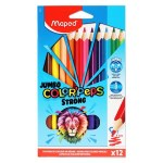 Maped Color'peps Strong Jumbo Colouring Pencils 12 Pack