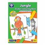 Jungle Sticker Colouring Book Orchard Toys