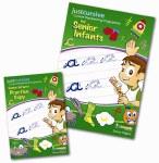 Just Cursive Handwriting Programme Senior Infants Book and Practice Copy Just Rewards