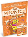 Just Phonics Junior Infants 26 Letters Book 1 Plus Sounds Practice Booklet Educate