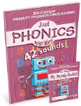 Just Phonics Junior Infants 42 Sounds Book 2 Plus Sounds Practice Booklet Educate