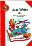 Just Write A1 Introduction to Joined Script and Cursive Writing Ed Co