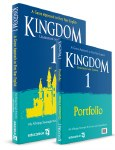Kingdom 1 Textbook & Portfolio First Year English with free eBook Educate