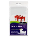 Self Adhesive Label Holders & Inserts